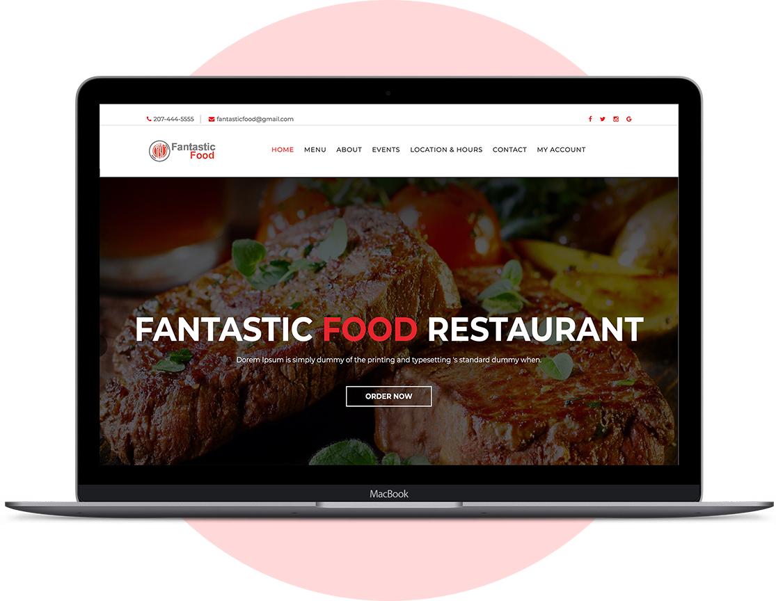 Restaurnat Online Ordering Website - RestauSolutions